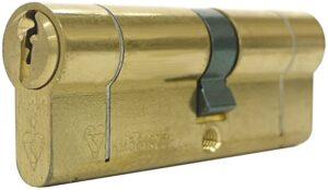 a british standard euro cylinder lock